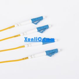 China OEM LC LC Duplex Patch Cord Yellow Color Excellent Environmental Adaptability supplier