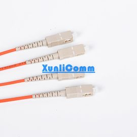 Duplex Fiber Optic Patch Cord SC - SC High Stability Customized Length