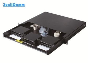 Rack Mounted Fiber Optic Patch Panel 36 Port 72 Cores 485mm x 294mm x 44mm