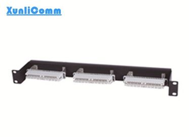 Telephone Cat3 Krone IDC Patch Panel 3*10 Pairs For Data And Voice Network